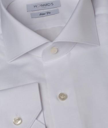 chemise-cintree-blanche-a-col-italien-en-coton-et-lin-melange